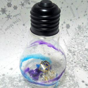星石の電球詰め