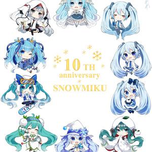 スウェット-雪ミク10TH anniversary ver-