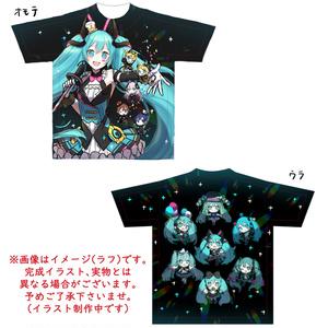 マジカルミライ2019 フルグラフィックTシャツ