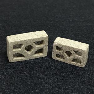 ミニ透かしブロック 2個セット よくある柄B