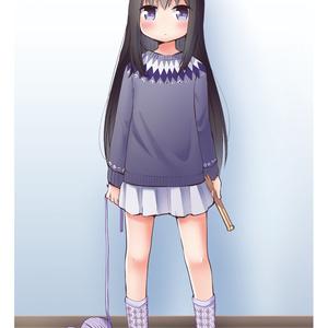 【冊子版】Magica × Knit 魔法少女と手編みの小もの