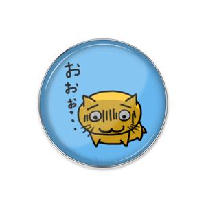 """PuniNUKO""""おおぉ""""ピンバッジ"""