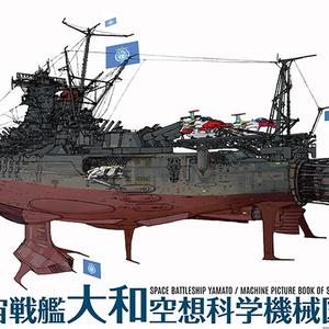 宇宙戦艦大和空想科学機械図鑑ポスター(送料込み)