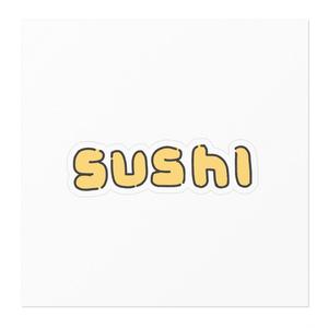 SUSHIステッカー(たまご)