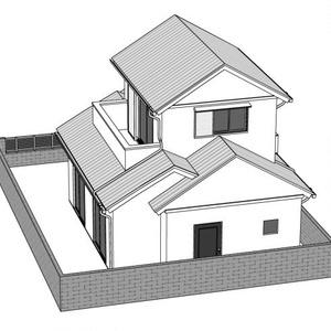 一軒家3D 【コミスタ・クリスタで動作確認済み】
