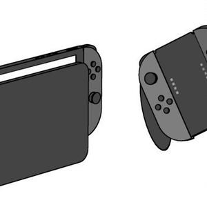 Nintendo Switch 3D素材【コミスタ・クリスタ兼用】