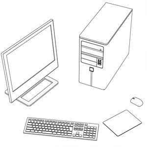 パソコン一式【コミスタ・クリスタ兼用】