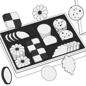 クッキー詰め合わせ3D