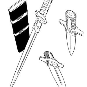 ダガーナイフA