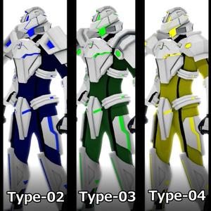 【VRM】CyberArmerSeries-01[Ranger]単体