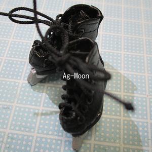 F型(オビツ11対応)スケート靴