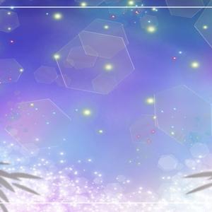 【背景】七夕 配信画面