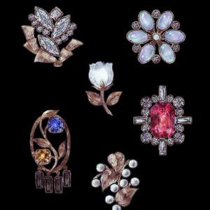 燐光の宝石群:トートバッグ