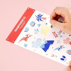 【まとめ割】ギャンパラ・オリジナル正方形シール制作×6種
