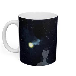 宇宙なすちゃマグカップ
