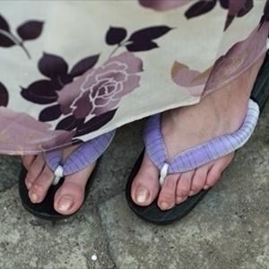 2016年夏 shushuの浴衣足