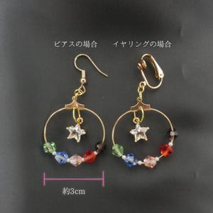 【サモケット2】ピアス/イヤリング