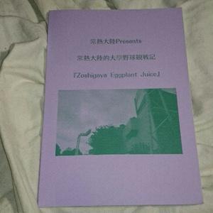 Zoshigaya Eggplant Juice