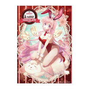 ポスター 巡音ルカ「SWEET rabbit CHOCOLATE」