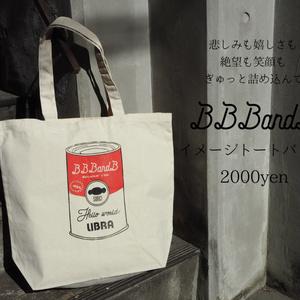 BBB&B缶イメージトートバッグ