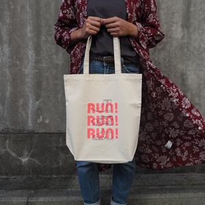 ランチトリオイメージ Run!×トートバッグ