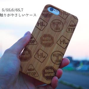 標識風iPhoneケース