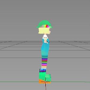 3Dデータ フェイーノちゃん ジャンク品