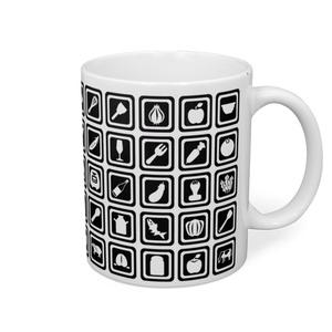 キッチンアイコンマグカップ