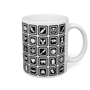 自然アイコンマグカップ