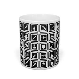 文化アイコンマグカップ