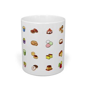 ドット絵デザートマグカップ