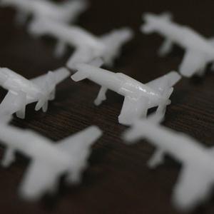 (6個セット)震電 局地戦闘機 1/700 モデル