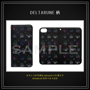 【 Undertale & DELTARUNE 】iPhoneX/XS用 手帳型スマホケース