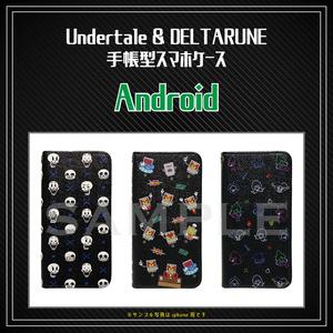 【 Undertale & DELTARUNE 】Android用 手帳型スマホケース