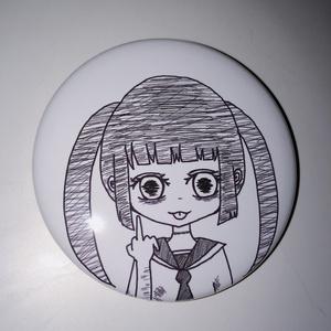 アングラ少女 缶バッチ