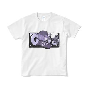 【渡瀬しぃの×飯田テイケ】コラボグッズ:ClowZ Girl【Tシャツ】