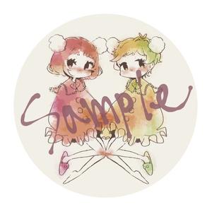 【COMITIA123】Sewing Girls 缶バッジ