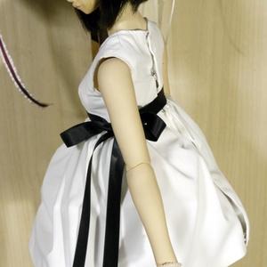 手縫いOK! 【実物大型紙付】 シンプルワンピース 作成手順本