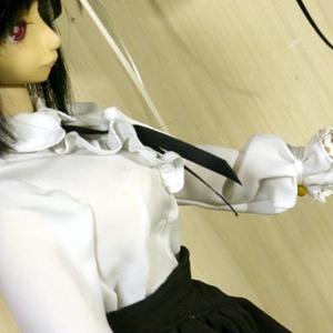【実物大型紙付】 フリルブラウス+コルセットスカート 作成手順本