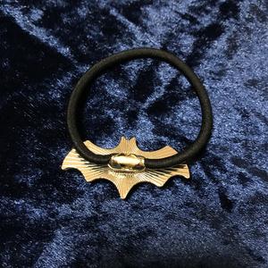 蝙蝠目玉ヘアゴム