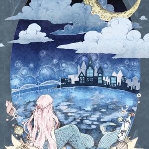 ポストカード「人魚姫」