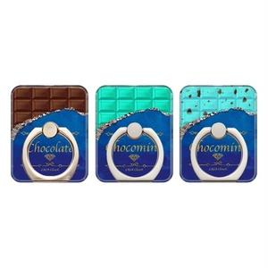 スマホリング チョコレート/チョコミント バンカーリン
