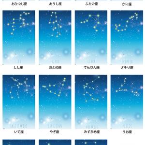 12星座+α ver.2 手帳型 iPhoneケース スマホケース
