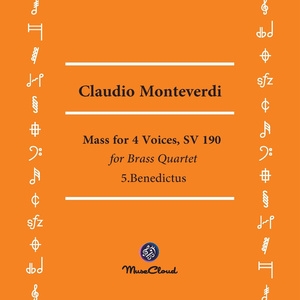 Mass for 4 Voices, SV 190  5.Benedictus