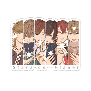 Star on Planet2018 アクリルバッジ