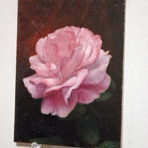 「Pale_pink」 油絵 原画