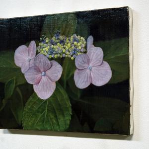 「額紫陽花」油絵 原画
