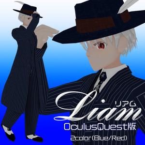 【OculusQuest版】Humanoid形式対応3Dモデル-Liam(リアム)