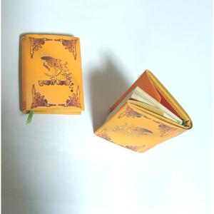 「黄金の魚」 アンティーク風手作り豆本