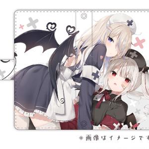 【LLサイズ】小悪魔ナーススマホケース【手帳型】